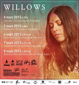 Willows en spectacle en Saskatchewan