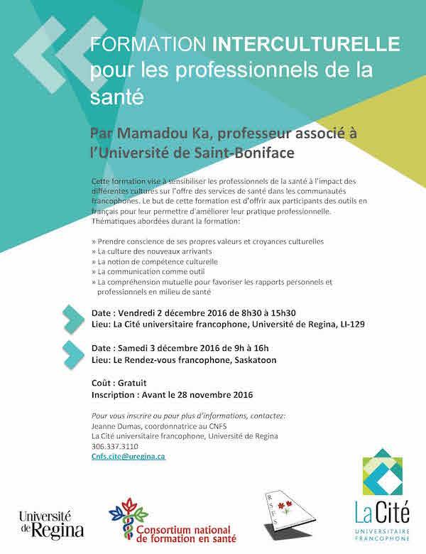 Formation interculturelle pour les professionnels de la santé