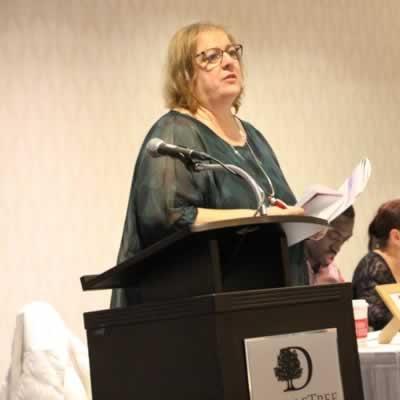 La directrice générale du Conseil culturel fransaskois, Suzanne Campagne.