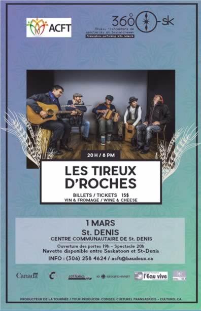 Les Tireux d'Roches à St-Denis