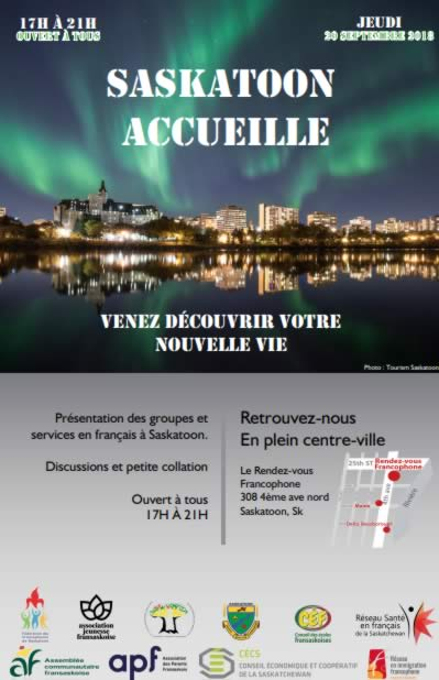Lancement de Saskatoon accueille