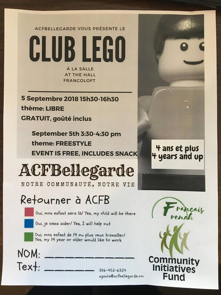 Club Lego à Bellegarde