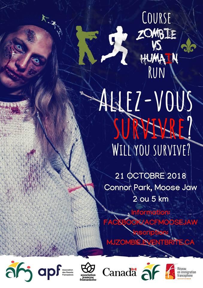 Zombie vs humain 2018