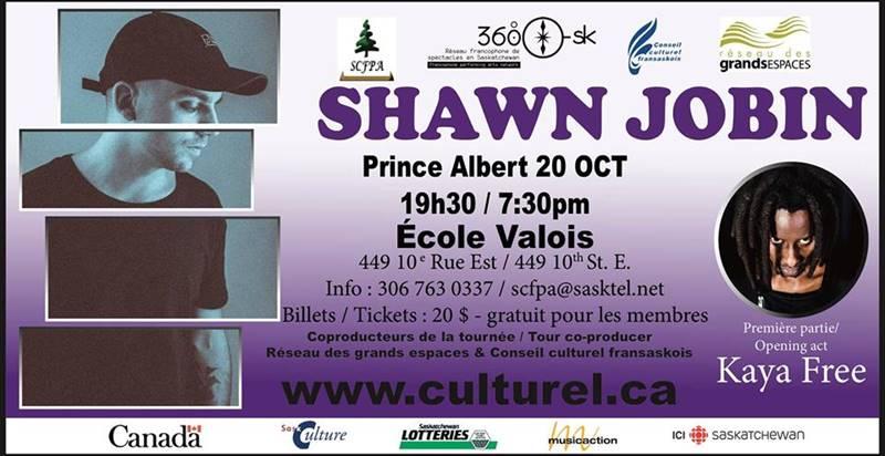 Shawn Jobin et Kaya Free à Prince Albert