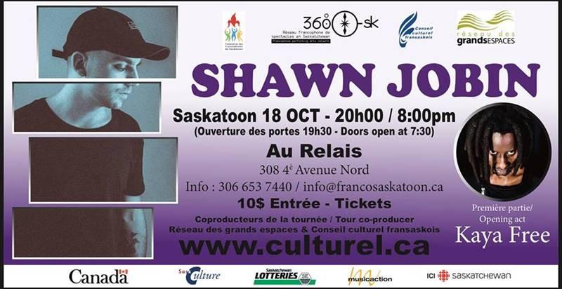 Shawn Jobin et Kaya Free à Saskatoon