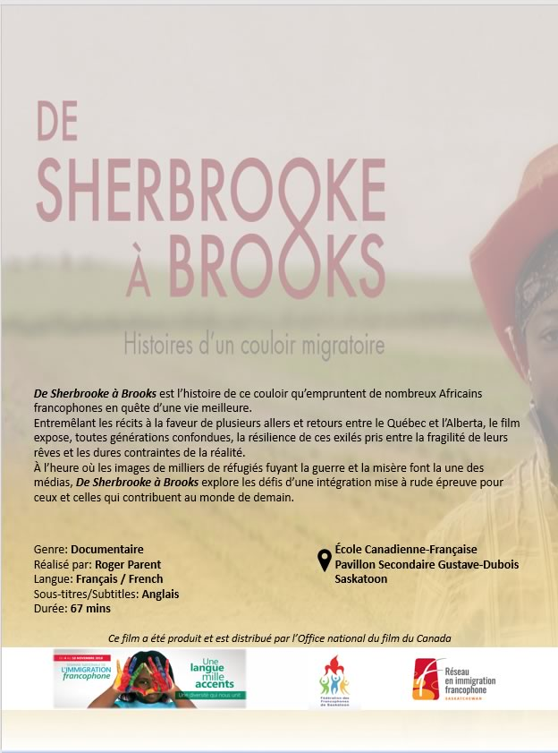 De Sherbrooke à Brooks