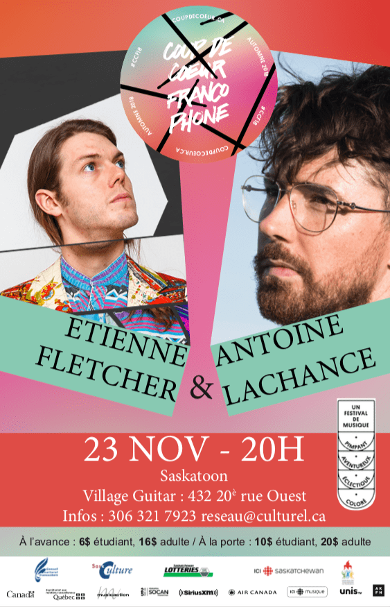 Étienne Fletcher et Antoine Lachance