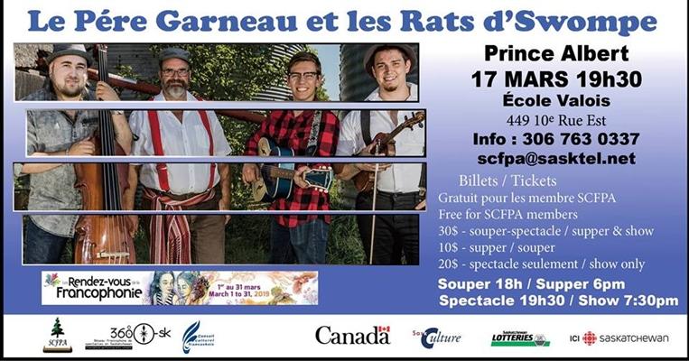 Le Père Garneau et les Rats d'Swompe à Prince Albert