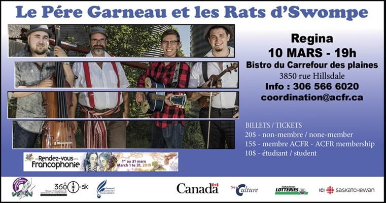 Le Père Garneau et les Rats d'Swompe à Regina