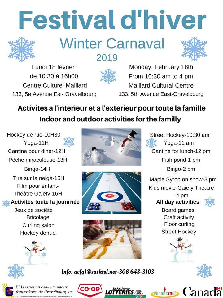 Carnaval d'hiver 2019 à Gravelbourg