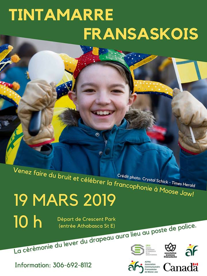 Tintamarre fransaskois 2019 à Moose Jaw