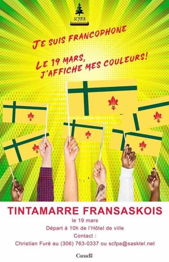 Tintamarre fransaskois 2019 à Prince Albert