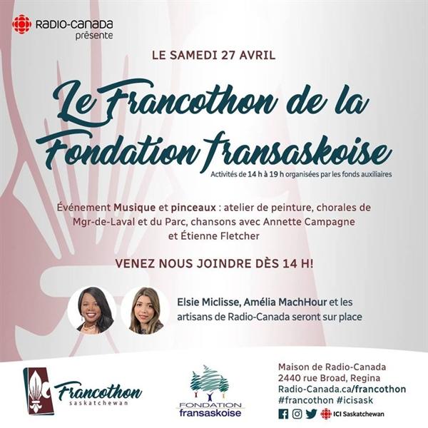 Francothon 2019 : Événement musique et pinceaux