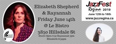 Elizabeth Shepherd et Rayannah à Regina