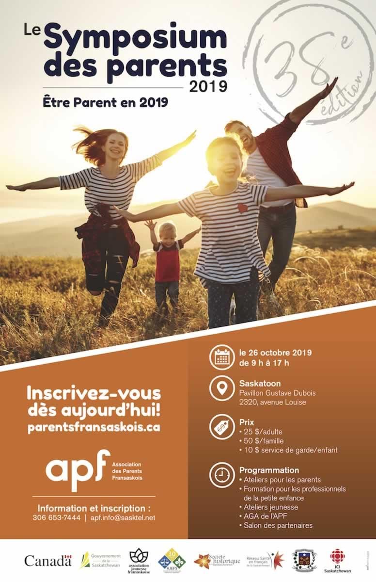Symposium des parents fransaskois 2019
