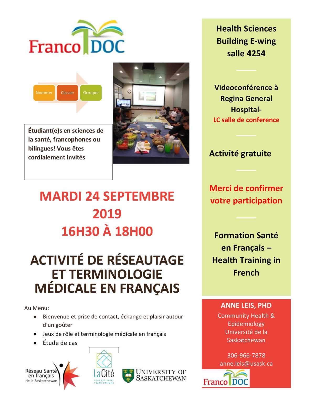 Rencontre FrancoDOC - 24 septembre 2019