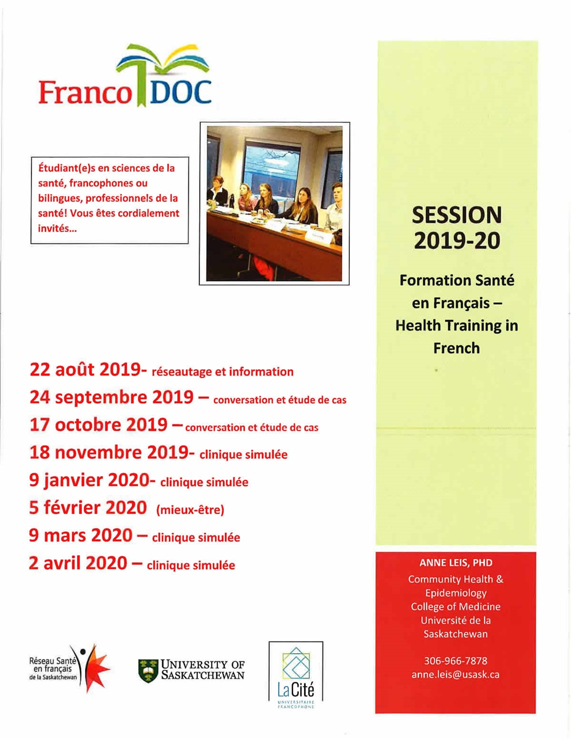 Programmation Franco DOC 2019-20