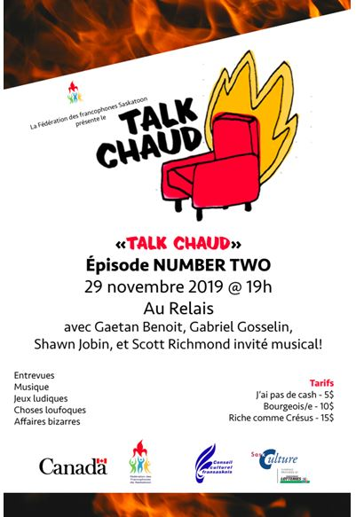 Talk Chaud Épisode Number Two